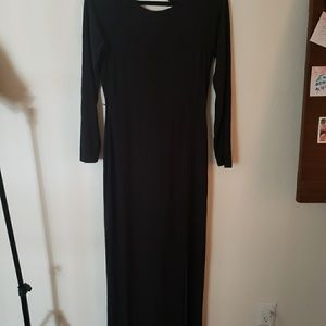 Long maxi with high split